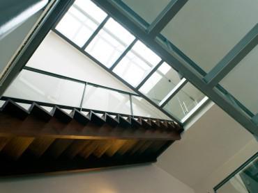 Plan-x Interieur Lichtschacht met trap