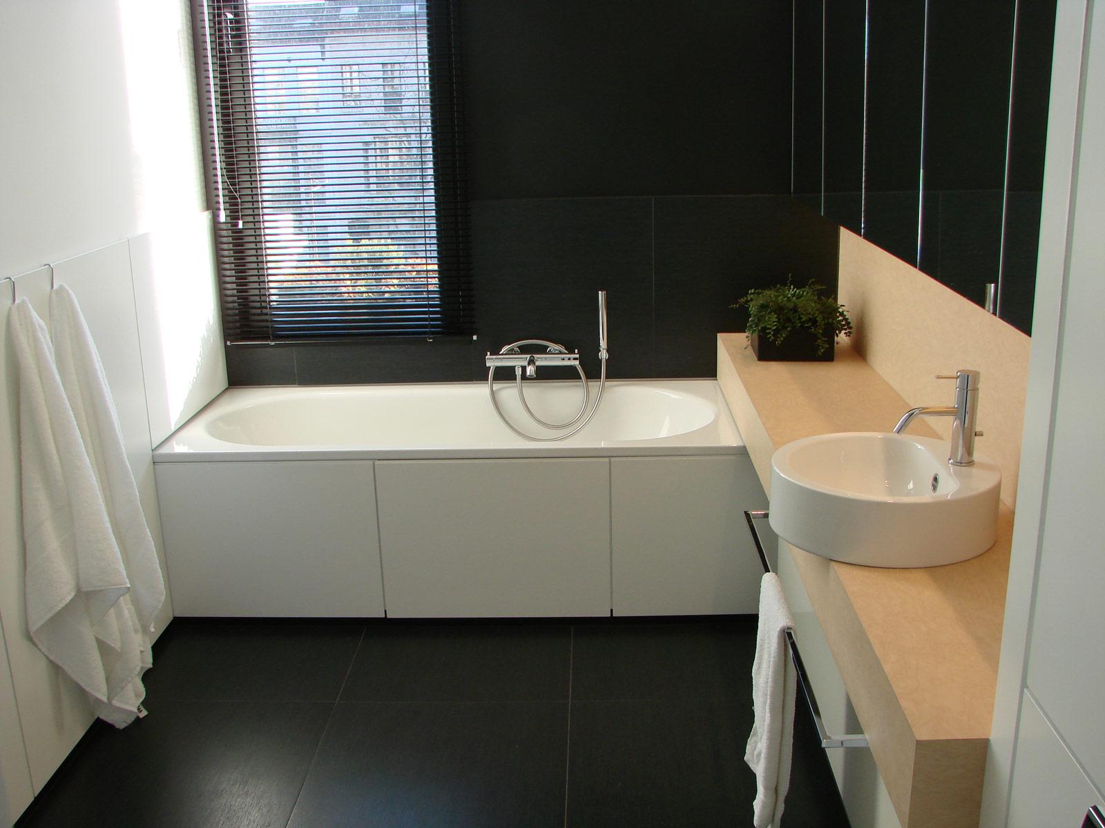Renovatie badkamer for Planner badkamer